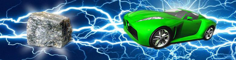 lítio e o automóvel eléctrico
